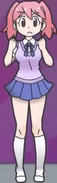 Natsumi frustrated