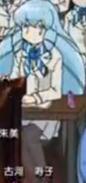 Shion in her school uniform
