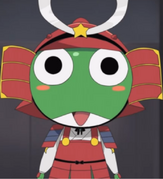 Shogun Keroro Red