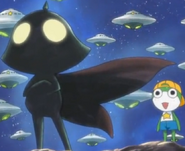 Keroro and his pops