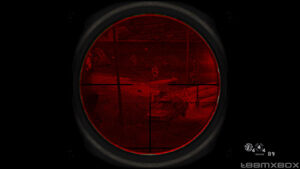 Red Sniping and ACOG Scope