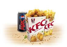 Chicken popcornchicken combo