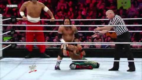 WWE Superstars 3 24 11 The Great Khali & Yoshi Tatsu vs