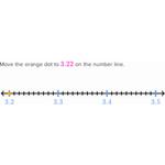 Decimals on the number line 2 256
