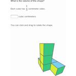 Volume with unit cubes 2 256
