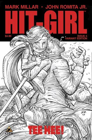 File:Hit-Girl cover of issue 5.jpg