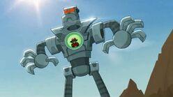 Rocked thedarkone'sgiantrobot