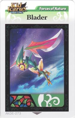 Bladerarcard