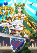 Palutena SSB4 Official Art