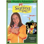 Kids World's Adventures of Signing Time - Everyday Signs