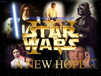 Kids World's Adventures of Star Wars Episode IV- A New Hope