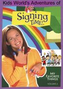 Kids World's Adventures of Signing Time - My Favorite Things
