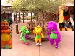 Kids World's Adventures of Barney Let's Go To The Zoo (crossover)