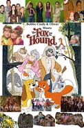 Bobby Cindy & Oliver Meets The Fox and the Hound