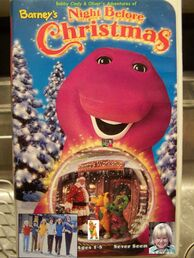 500px-Bobby Cindy & Oliver's Adventures of Barney's Night Before Christmas