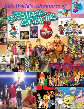 Kids World's Adventures of Good Luck Charlie, It's Christmas!