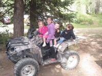 Alyssa, Allie, Alex, and Gracie