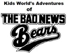 Kids World's Adventures of The Bad News Bears logo