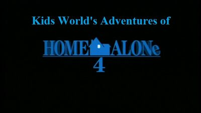 Kids World's Adventures of Home Alone 4 Taking Back at the House