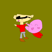 Kirby glomp