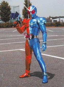 Kamen Rider Double, Kikaider style
