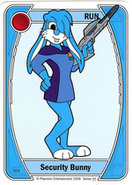 Blue Security Bunny