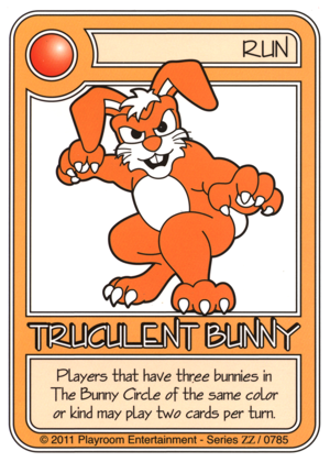 0785 Orange Truculent Bunny-thumbnail