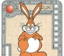 Orange Super Gleeful Bunny