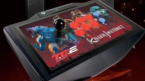 Killer Instinct - Mad Catz TE2 Arcade FightStick Unboxing