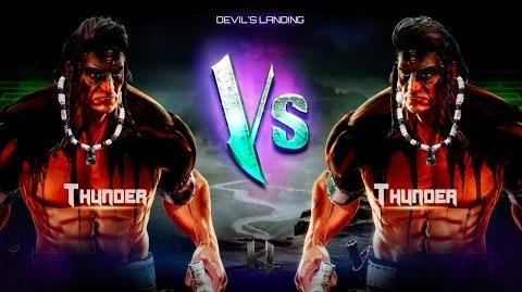 Killer Instinct Thunder Alternate Intro Ultra Combo Victory Pose