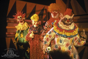 Spiky with the other killer klowns