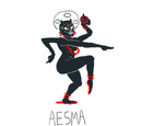 Aesma and the Three Masters