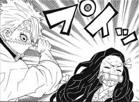 Nezuko refuses