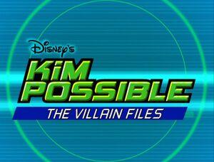 The Villain Files title card