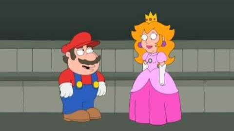 Super Mario Family Guy Style
