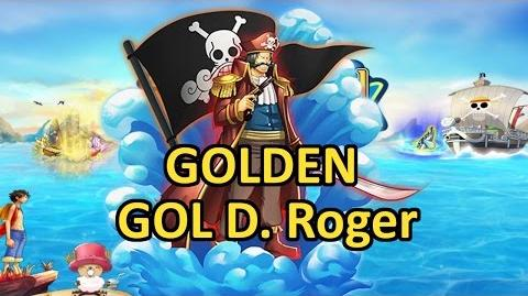Golden Orange Gol D. Roger - Sailing World KOP Pirates King Eskeysis