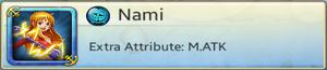 Bond Partner - Nami (Blue)