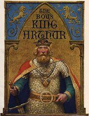 461px-Boys King Arthur - N. C. Wyeth - title page