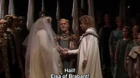 Lohengrin Wedding Scene (Marton, Rysanek, Hofmann, Levine)