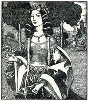 523px-Arthur-Pyle The Lady Guinevere