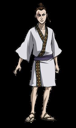 Kyo Gai Character Design anime S2