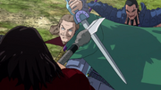 Tou Save Ou Ki From Hou Ken's Strike anime S1