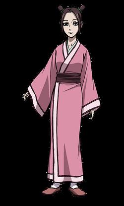 Kou Character Design anime S2