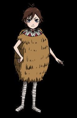 Ka Ryo Ten Character Design anime S2