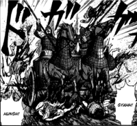 War chariot front