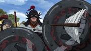 Kyou En's Arrow Pierces Chu's Shield