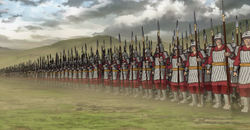 Line Formation anime portrait