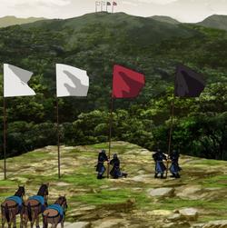 Flag anime portrait