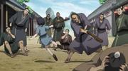 Kantan Resident Hits Ei Sei With A Club anime S2