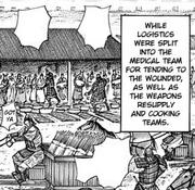 Sai Army logistics